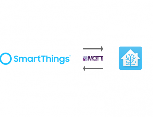 SmartThings with MQTT and Home Assistant